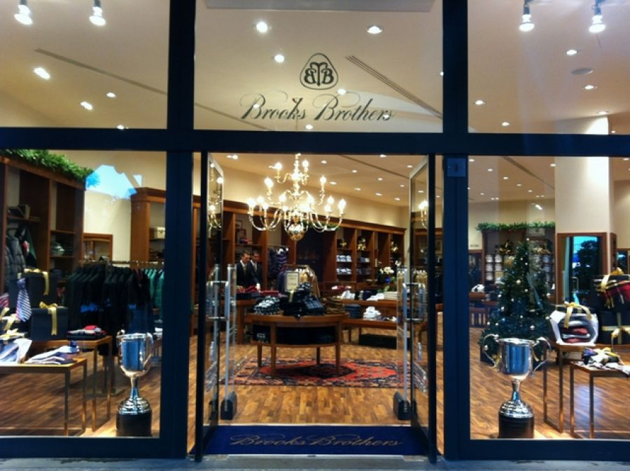 Punto vendita Brooks Brothers, Franciacorta Outlet Village